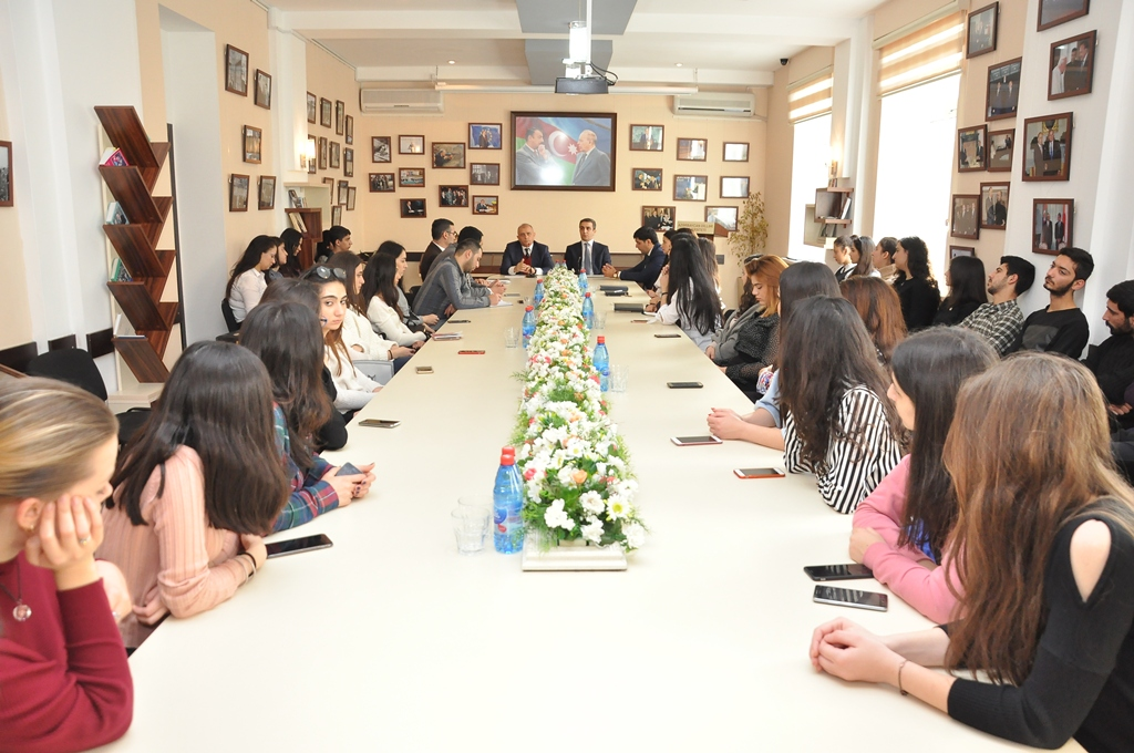 The Nationwide Leader Heydar Aliyev was Commemorated at Azerbaijan University of Languages