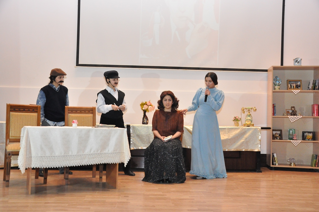 Pygmalion was Staged in English at AUL