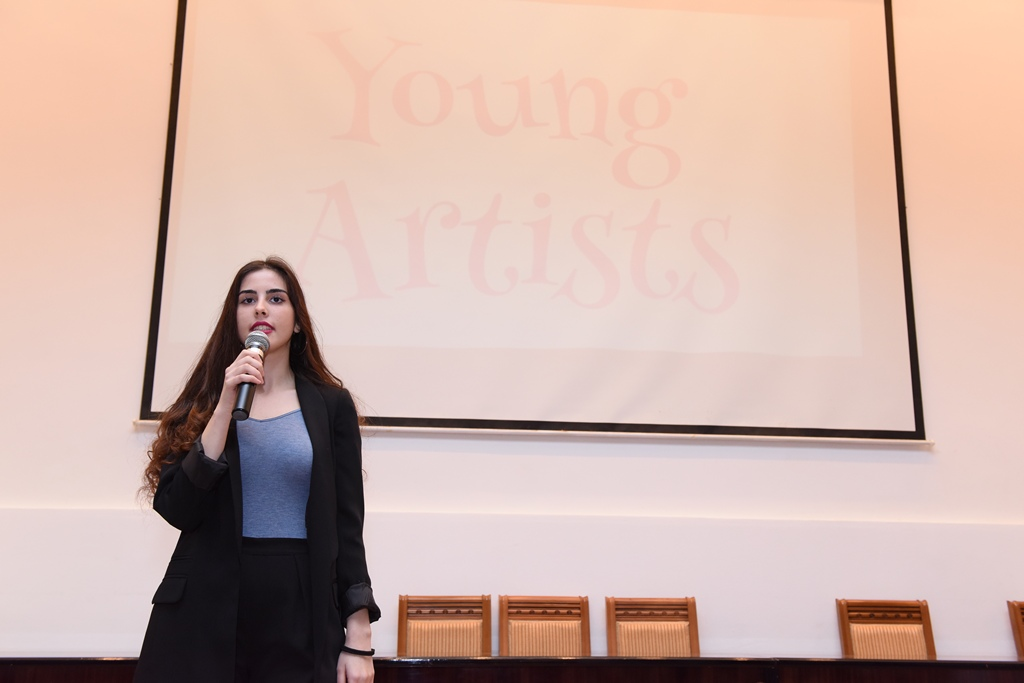 A Presentation of the Young Artist's Circle was Held at Azerbaijan University of Languages (AUL)