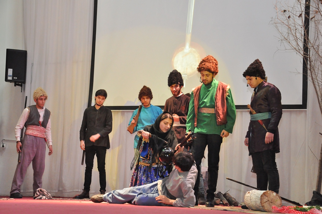 "The Play ""Kamancha"" was Staged at Azerbaijan University of Languages (AUL)"