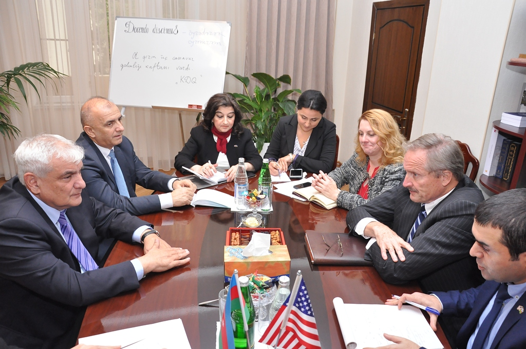 Rector of AUL Kamal Abdulla had a meeting with the US Ambassador