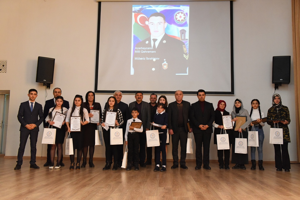 Ceremony of Rewarding the Winners of the Competition Devoted to Mübariz Ibrahimov