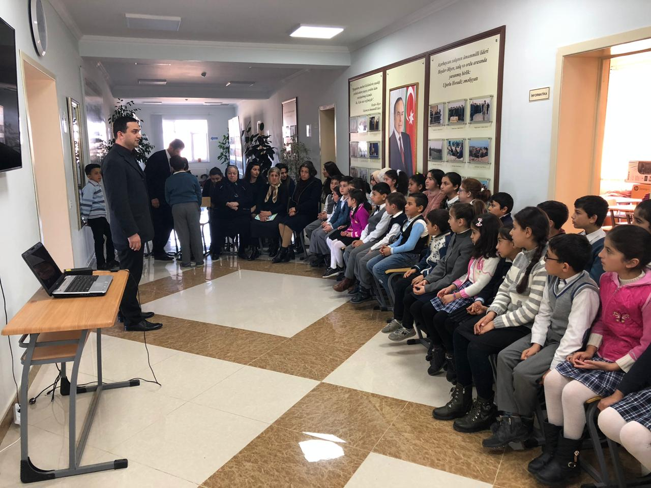 Teaching  Practice of Students in Cocuq Mərcanlı Continues Successfully