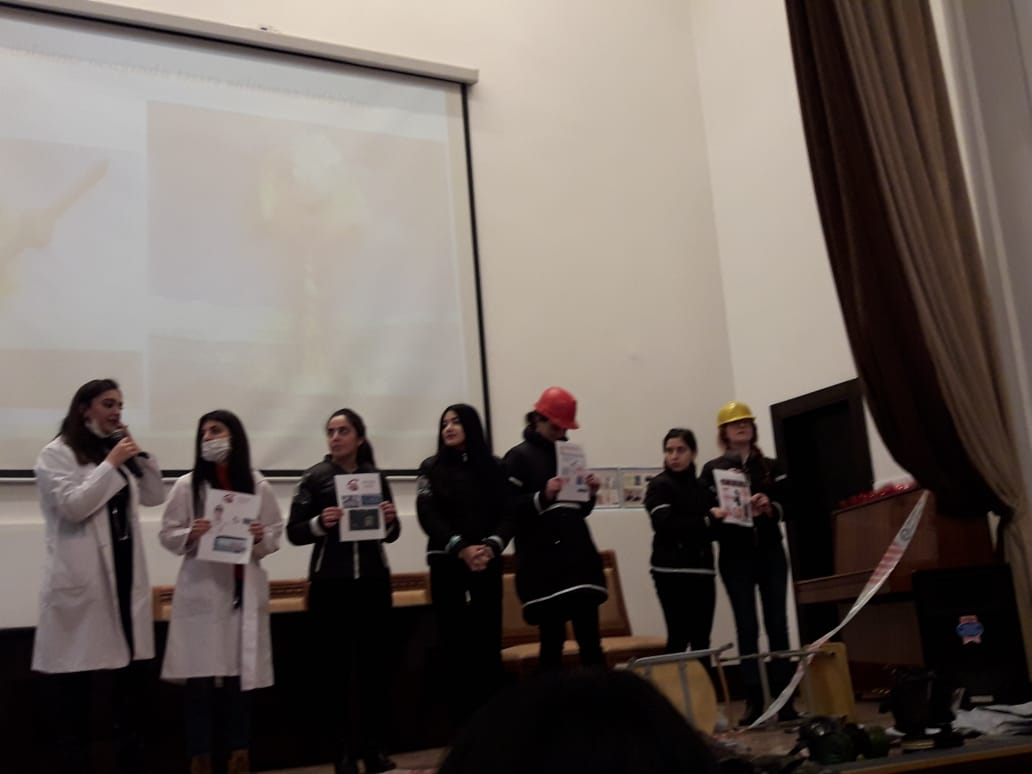 An Event Dedicated to the International Day of Civil Defense was Held at Azerbaijan University of Languages