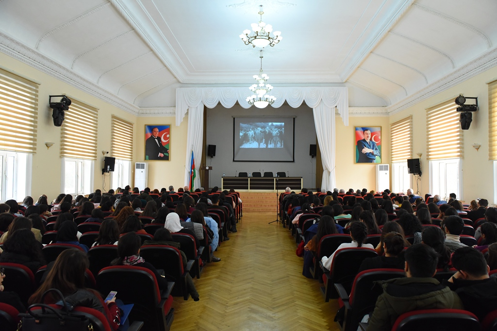 The Staff of the State Security Service Met the Students of Azerbaijan University of Languages
