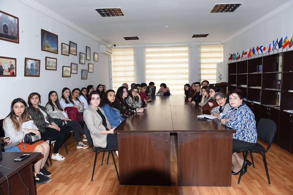 Employee of the Embassy of Czech Republic Visited Azerbaijan University of Languages