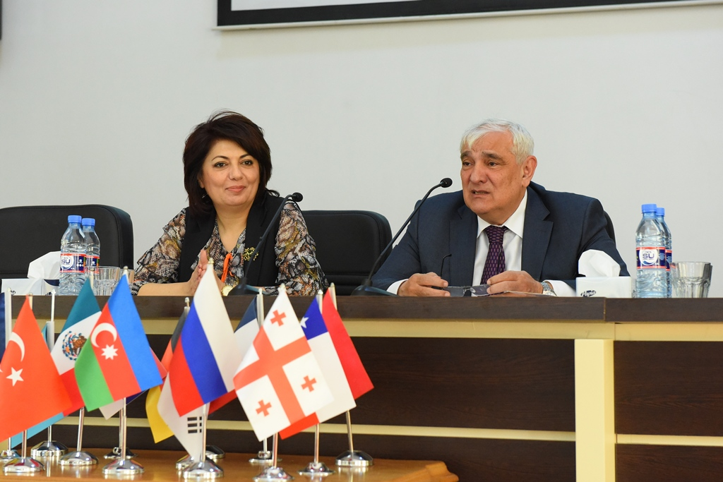 "The Conference ""Heydar Aliyev: Multiculturalism and the Ideology of Tolerance"" Held in Azerbaijan University of Languages Ended with Great Success"