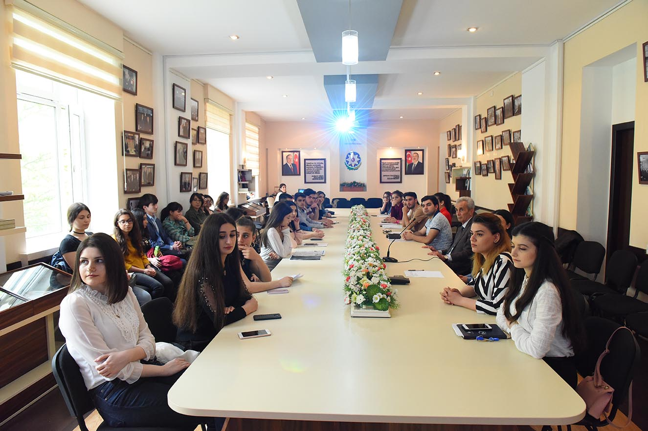 "Round-Table on the Topic ""Heydar Aliyev and the Azerbaijani Youth"""