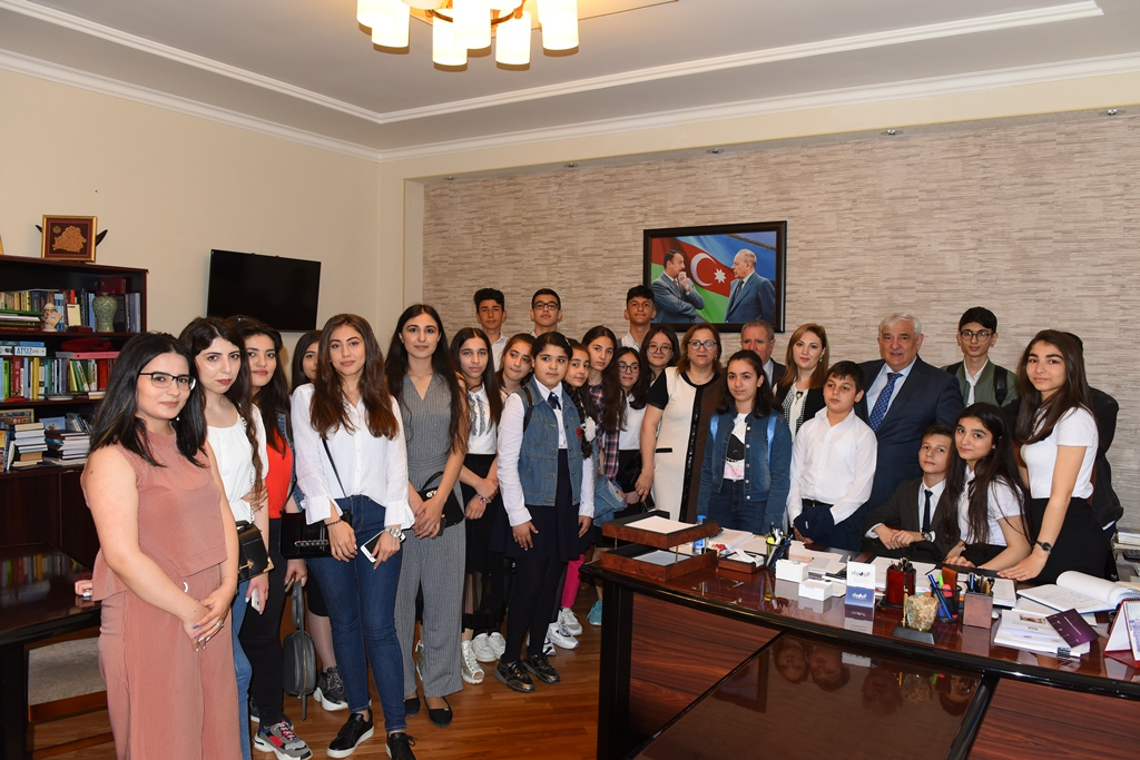 Pupils Visited Azerbaijan University of Languages in the Capacity of Guests