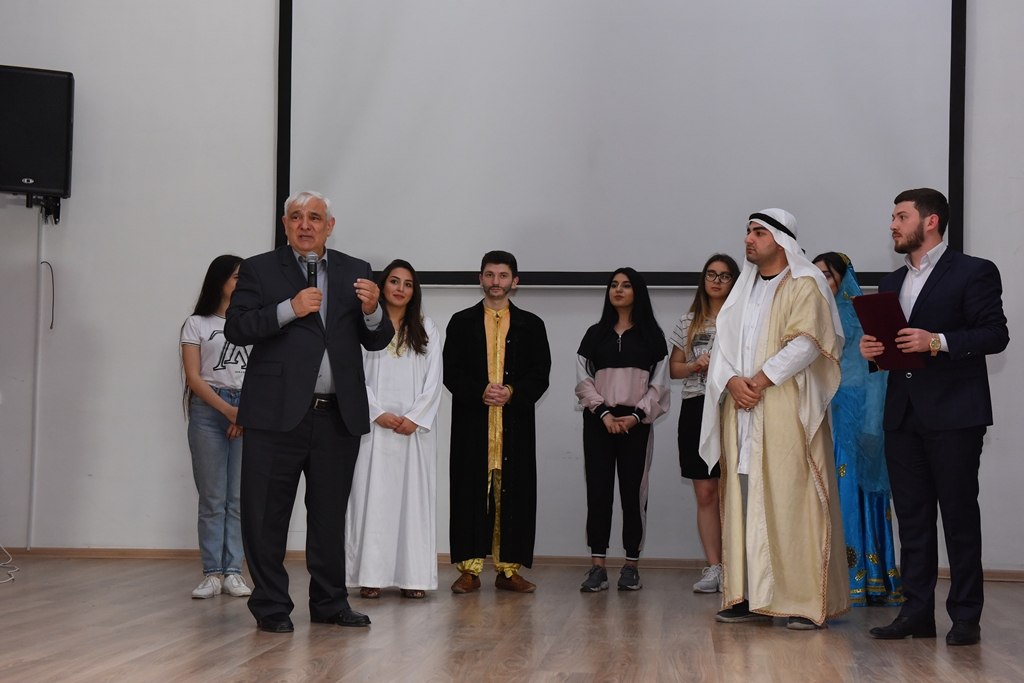 "Opera ""Leyli and Məcnun"" has been Staged by the Students of Azerbaijan University of Languages"
