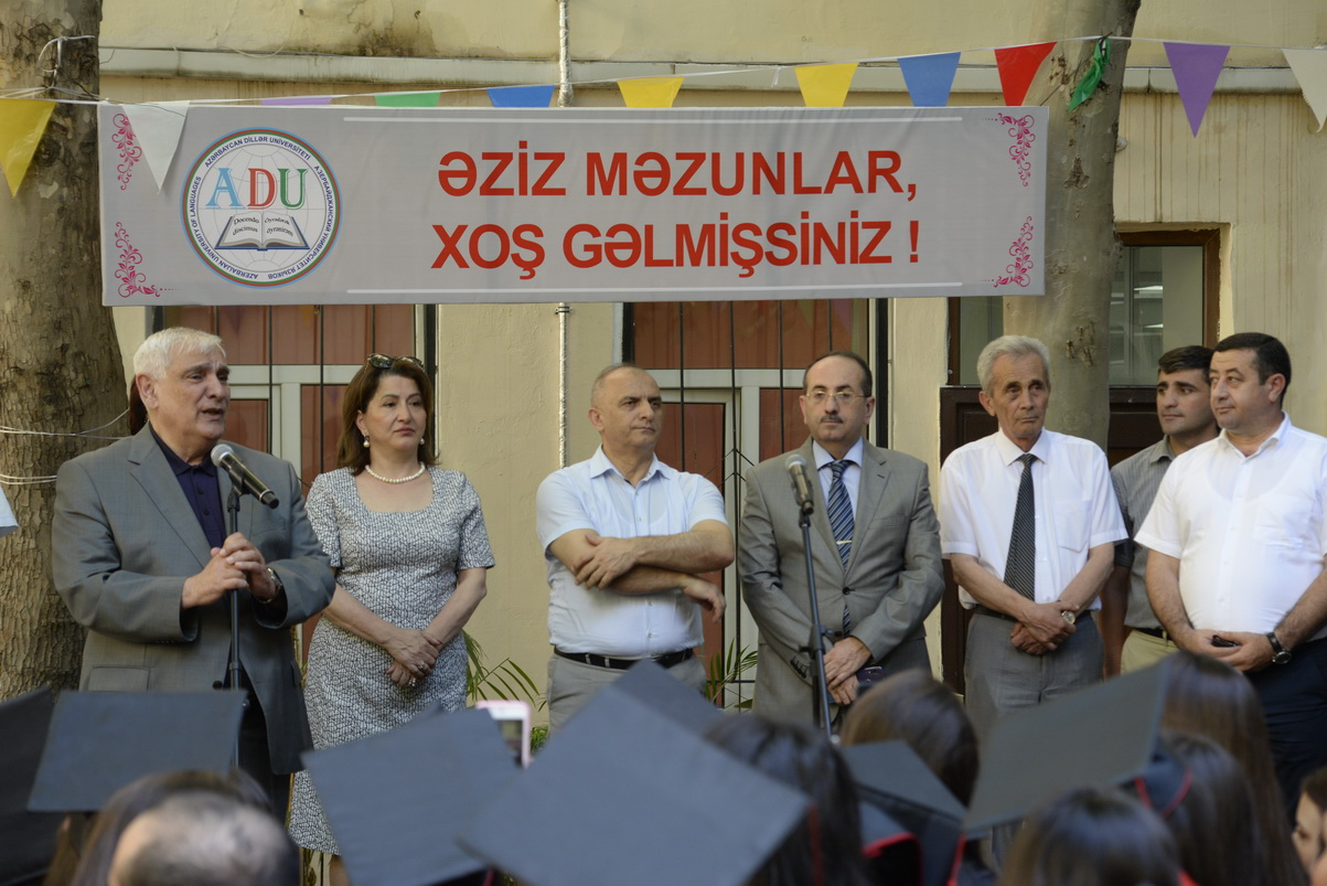 """Graduation Day"" was held at Azerbaijan University of Languages"