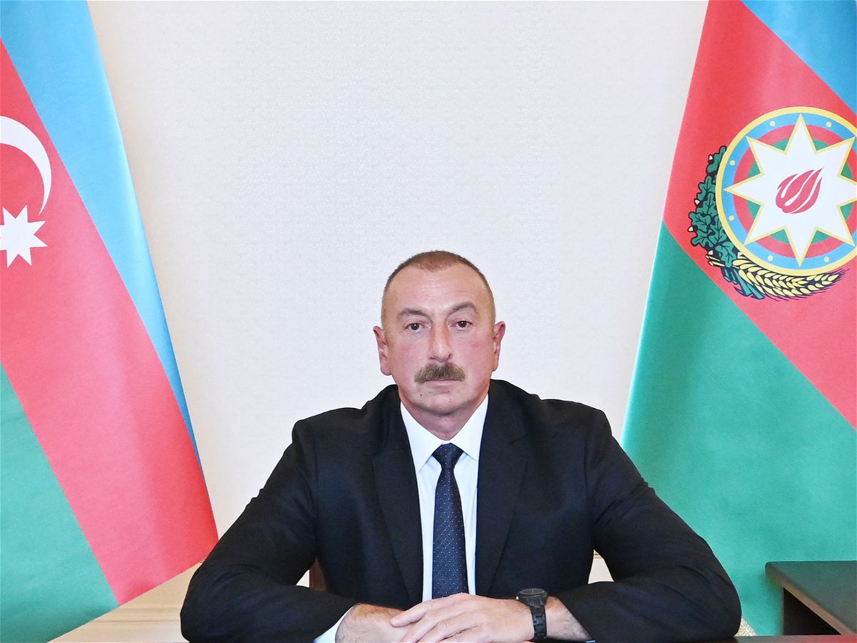 President of the Republic of Azerbaijan Ilham Aliyev has addressed the nation