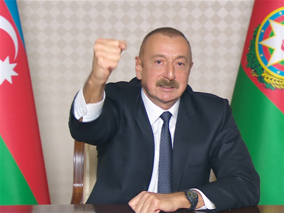 President Ilham Aliyev: Zangilan city and 6 villages of the district, 18 villages of Fuzuli, Jabrayil, and Khojavand districts were liberated