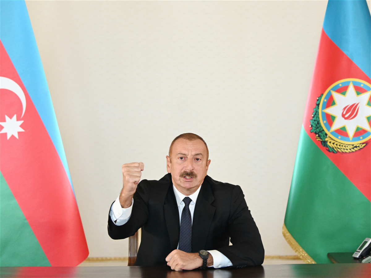 President Ilham Aliyev: Azerbaijani Army liberated several villages of Zangilan, Jabrayil and Gubadli districts and the city of Gubadli