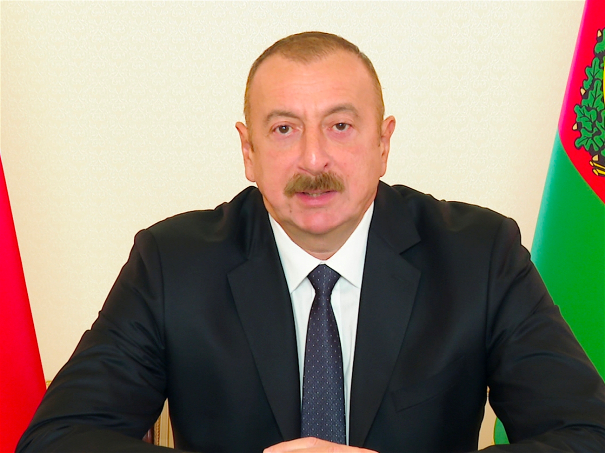 President Ilham Aliyev addressed the nation