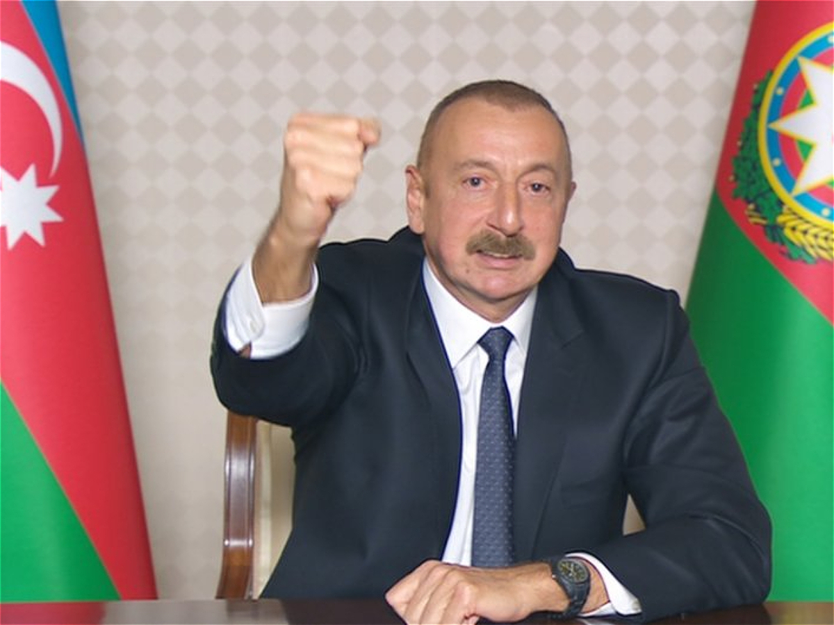 President, Commander-in-Chief Ilham Aliyev: Dear Shusha, you are liberated!