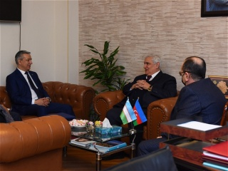 Rector of AUL met with the Ambassador of Uzbekistan to Azerbaijan