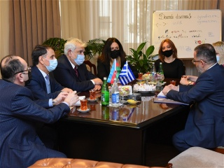Greek Ambassador to Azerbaijan visits AUL
